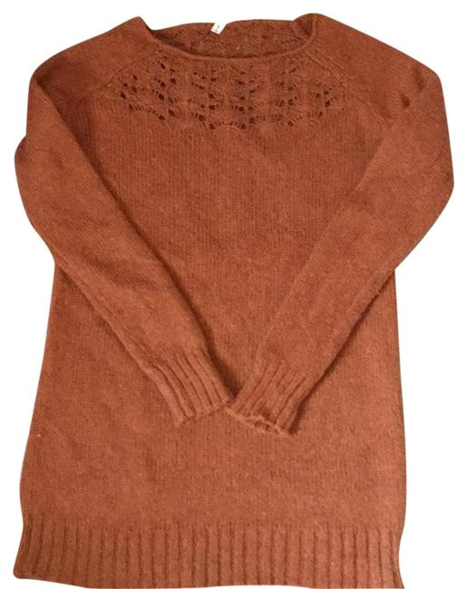 Anthropologie Rust Sweater Anthropologie Rust Sweater Image 1
