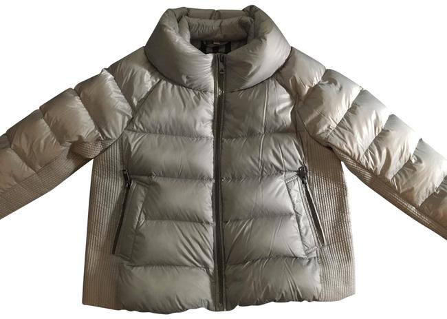 Item - Light Grey Townfield Puffer Down Jacket Coat Size 20 (Plus 1x)