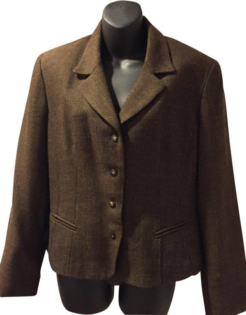 Preload https://img-static.tradesy.com/item/24574319/giannini-brown-wool-blazer-size-petite-14-l-0-4-650-650.jpg
