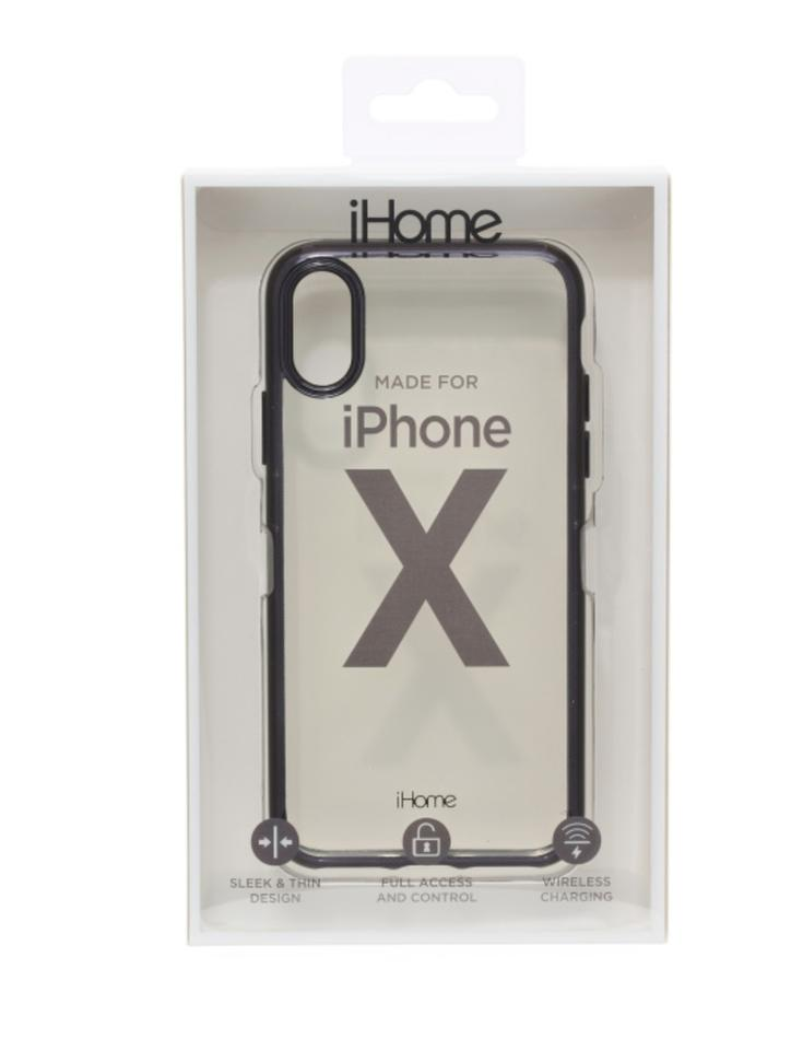 low priced f3b7a 179e1 iHome Clear & Black XS Lux For Iphone X Or Case Tech Accessory