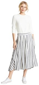 Trovata Maxi Skirt Black/Off white
