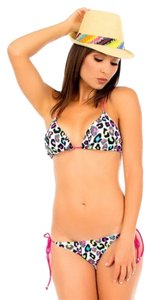 InGear animal print 2-piece bikini swimsuit