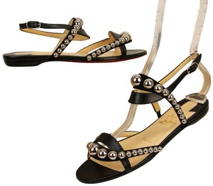 55c09d5fc55 Black Christian Louboutin Flats Up to 90% off at Tradesy (Page 4)