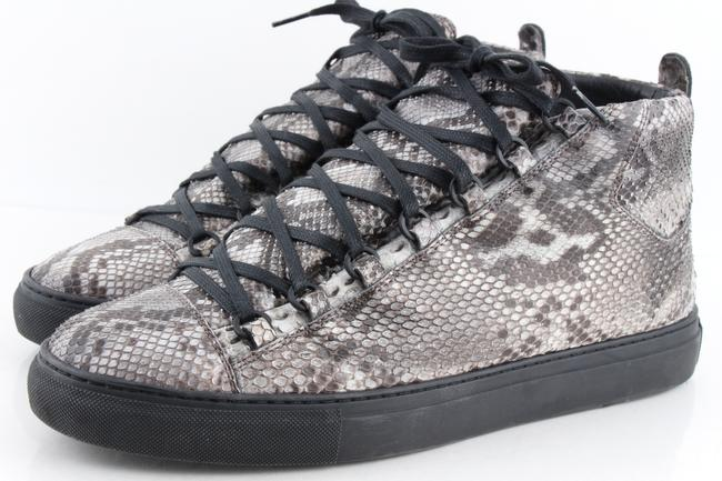 Item - Multicolor Men's Python Arena High-top Sneakers Shoes