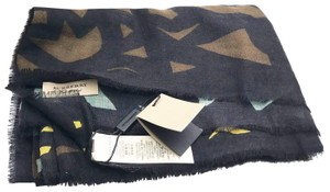Burberry Burberry Brand New Multi Color Pattern Cashmere Long Scarf