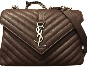 fc6ffc3230 Saint Laurent College Bags - Up to 70% off at Tradesy