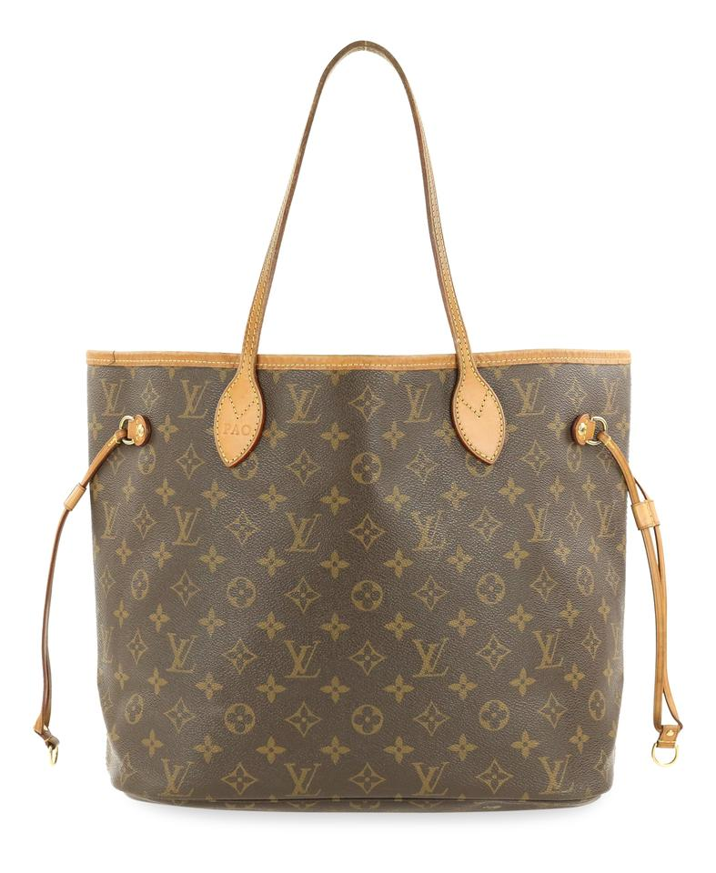 e55838d310f2 Louis Vuitton Neverfull Neverfull Mm Monogram Neverfull Tote in Brown Image  0 ...