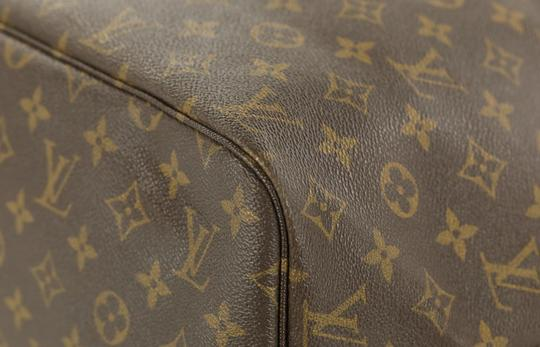 Louis Vuitton Neverfull Neverfull Mm Monogram Neverfull Tote in Brown