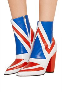 Laurence Dacade red, white, blue Boots