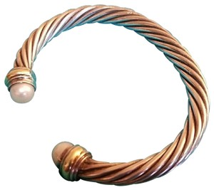David Yurman David Yurman 7mm Cable Classics Bracelet with Pearls