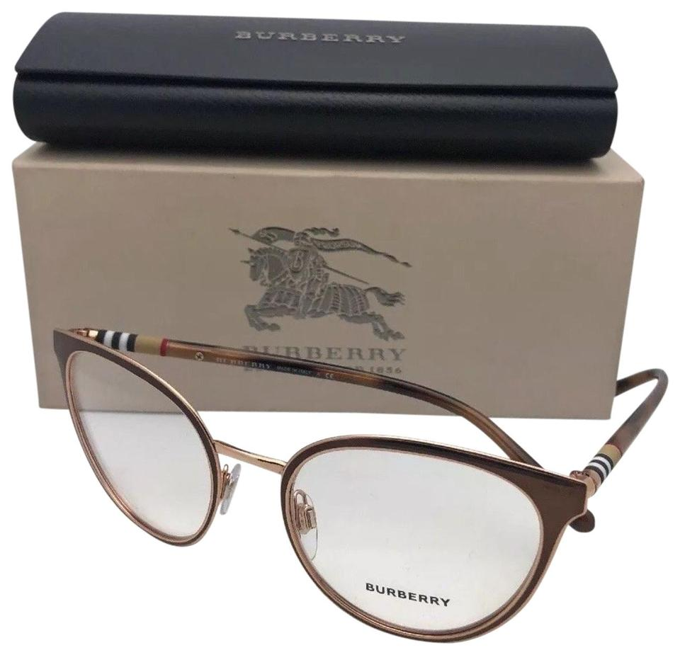 31c64c477d Burberry New BURBERRY Eyeglasses B 1324 1263 52-19 140 Brown Tortoise    Copper Image ...