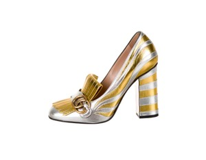d828864181c Women s Gold Gucci Shoes - Up to 90% off at Tradesy
