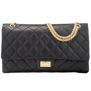 49cd432271f566 Chanel Classicchanel Reissue 2.55 Quiltedchanel Cross Body Bag. Chanel 2.55  Reissue Classic Flap 50th Anniversary Edition Double Black ...