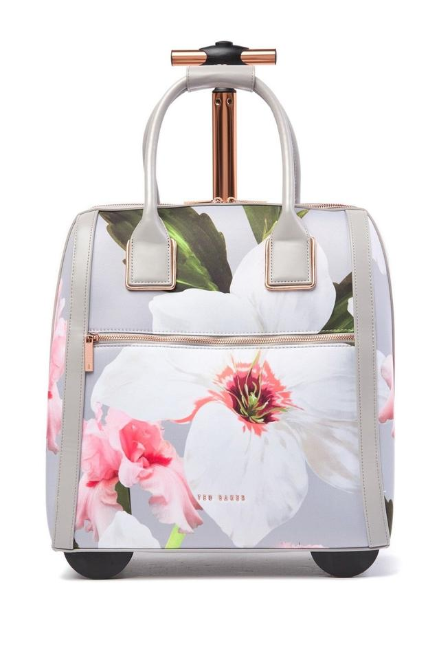 e3a3a40c36d9d Ted Baker Polyester Carry On Suitcase Chatsworth Blossom Floral Mid Grey Travel  Bag Image 0 ...