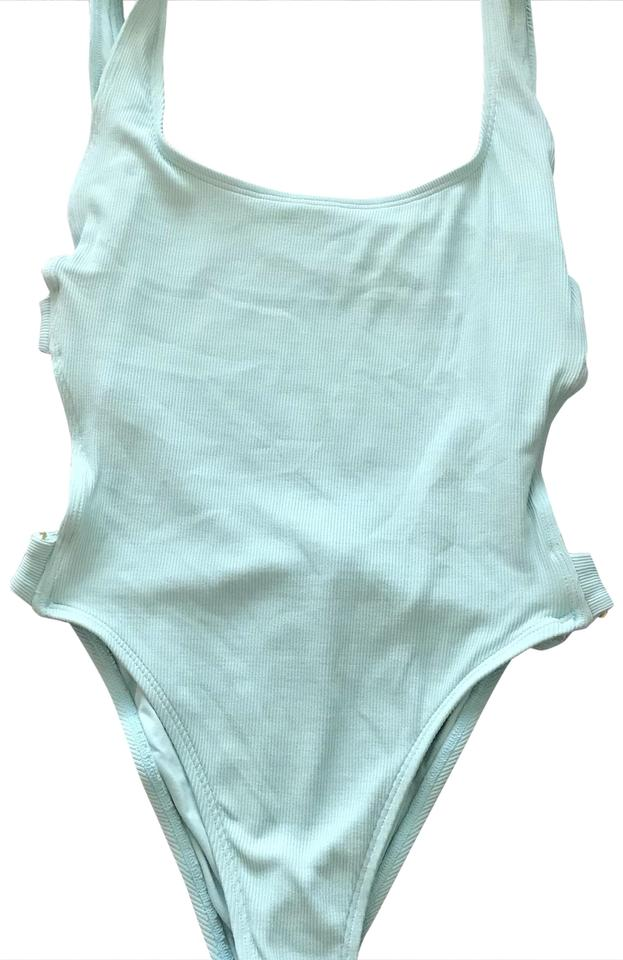 2c71b4cc6bd8e L*Space Turquoise Mayra One-piece Bathing Suit Size 6 (S) - Tradesy