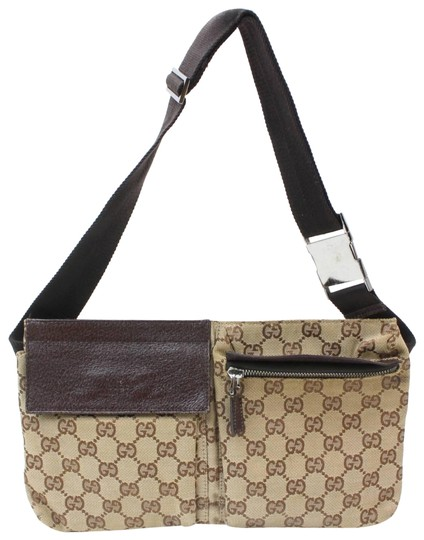 Preload https://img-static.tradesy.com/item/24576623/gucci-fanny-pack-belt-waist-brown-canvas-wristlet-0-1-540-540.jpg