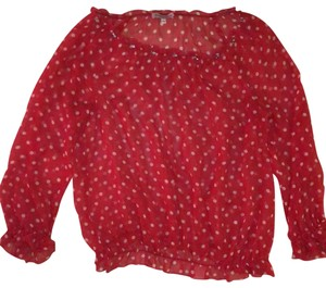 Juicy Couture Top red and white