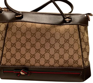 8c47eae7d4a5 Brown Gucci Satchels - Up to 90% off at Tradesy