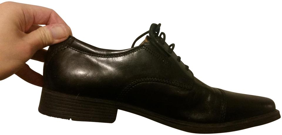 Clarks Black Men's Casual Lace ups Formal Leather Dress Flats Size US 8.5 Regular (M, B) 10% off retail