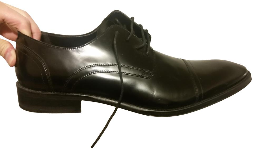 8c90db26e58a Kenneth Cole Black Mens Dress Leather Formal Shoes Size US 13 ...
