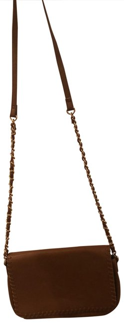 Item - Leather Brown Cross Body Bag
