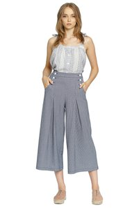 d.RA Zara Trousers Checkered Sailor Relaxed Pants Gingham