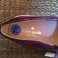 Kate Spade Maroon Black White Delise Flats Size US 7.5 Regular (M, B) Kate Spade Maroon Black White Delise Flats Size US 7.5 Regular (M, B) Image 3