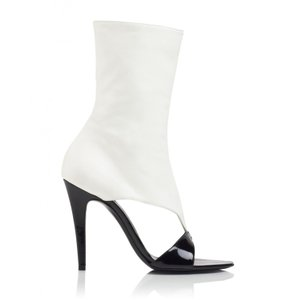 Tamara Mellon Black/Cream Sandals