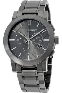 Burberry BU9354 Burberry Men's Large Check Chronograph Stainless Steel Watch
