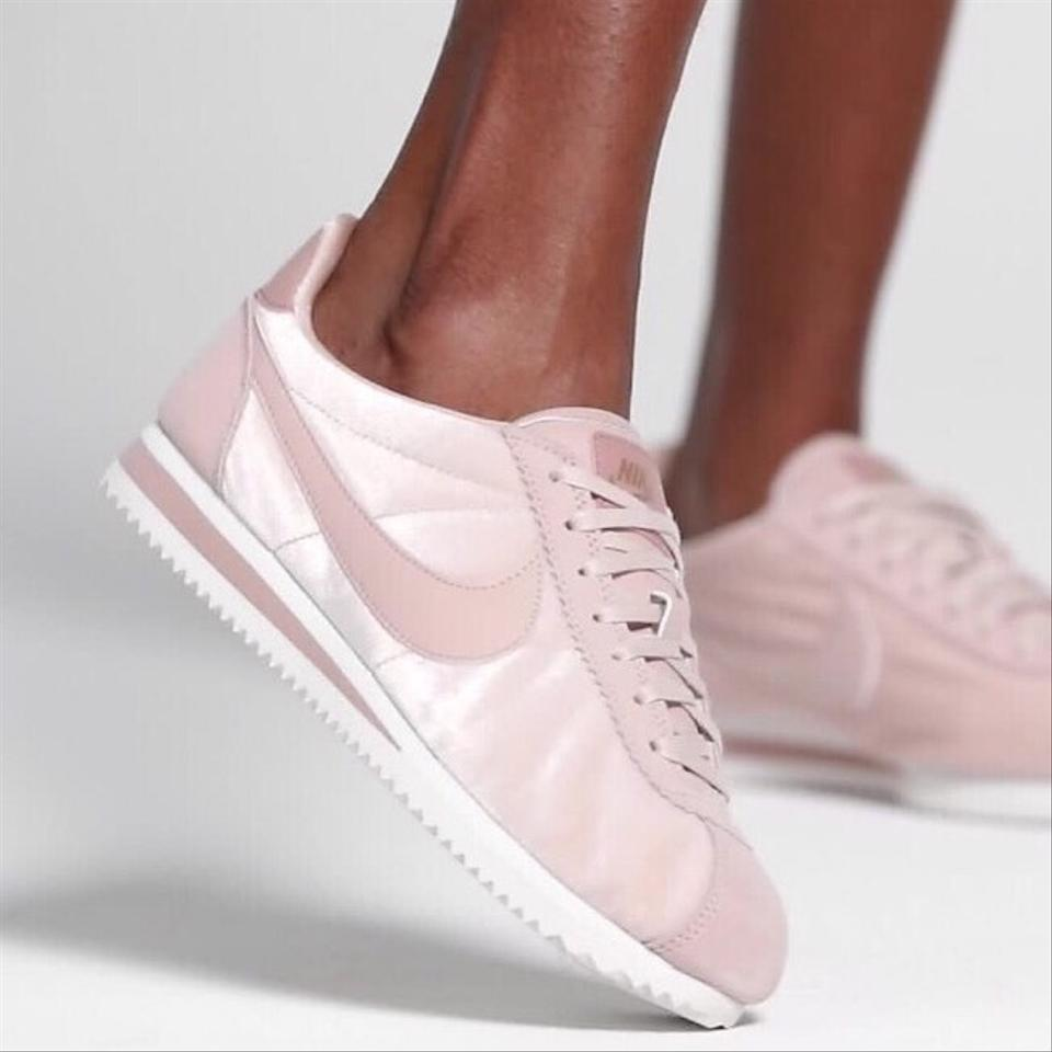 huge selection of 2925d c82ee Nike Pink Women's Cortez Blush Velvet Features A Durable Upper and The  Timeless Design That Made The Running Sneakers Size US 8.5 Narrow (Aa, N)  28% ...