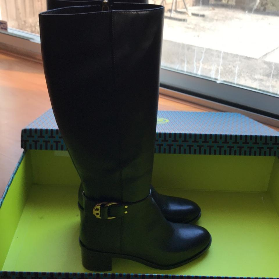 53a3f605050 Tory Burch Black Boots Booties Size US 7.5 Regular (M