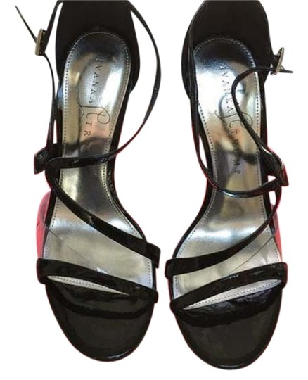 Preload https://img-static.tradesy.com/item/2457922/ivanka-trump-black-patent-leather-with-transparent-inset-at-toe-strap-sandals-2457922-0-1-540-540.jpg