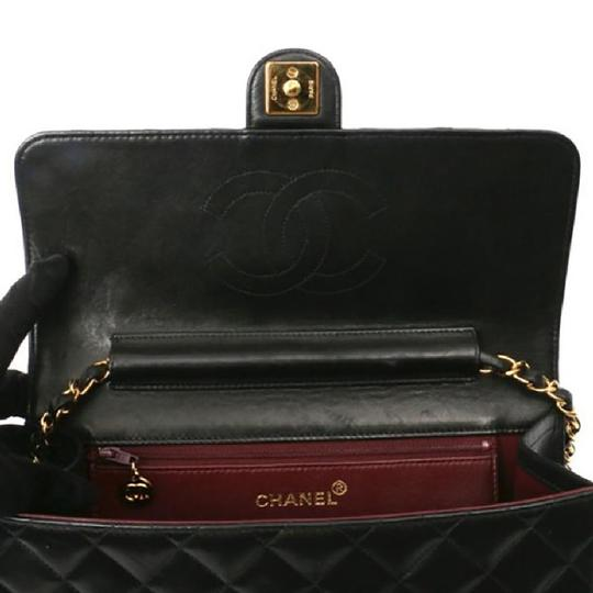 Chanel Vintage Lambskin Quilted Flap Shoulder Bag