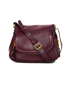 Tom Ford Leather Top Cross Body Bag