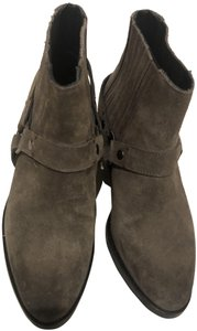 AllSaints Western Toupe/grey Boots