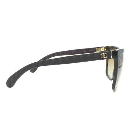 Chanel Havana Transparent Cat Eyed Polarized Quilted Sunglasses 5288 714/S9 Image 6