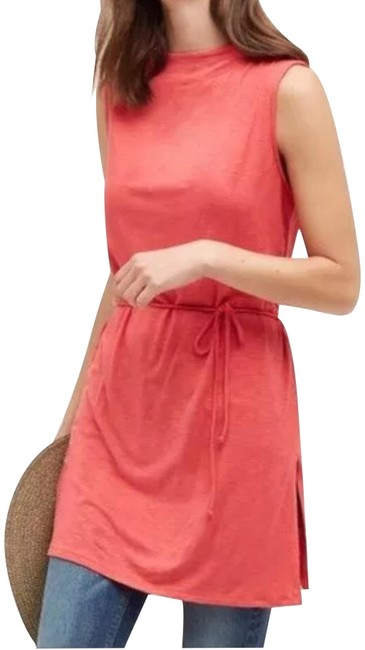 Preload https://img-static.tradesy.com/item/24579608/dolan-red-anthropologie-left-cost-collection-tunic-mid-length-short-casual-dress-size-12-l-0-1-650-650.jpg