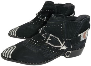 Ivy Kirzhner Black and Silver Boots