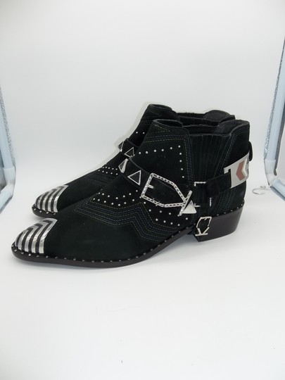 Ivy Kirzhner Black and Silver Boots Image 1