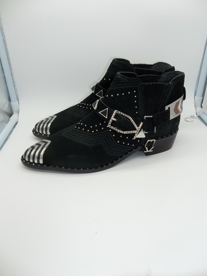 Ivy Kirzhner Black and Silver Boots Image 3