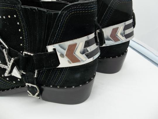 Ivy Kirzhner Black and Silver Boots Image 4