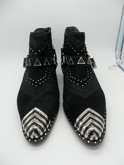 Ivy Kirzhner Black and Silver Boots Image 8