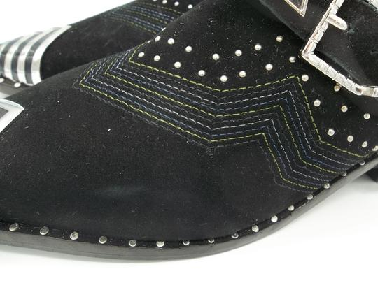 Ivy Kirzhner Black and Silver Boots Image 9
