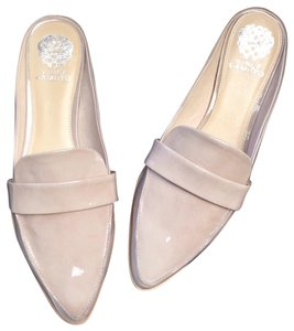 Vince Camuto Taupe Nude Mules