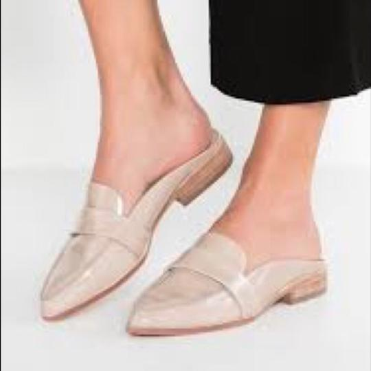 Vince Camuto Taupe Nude Mules Image 1
