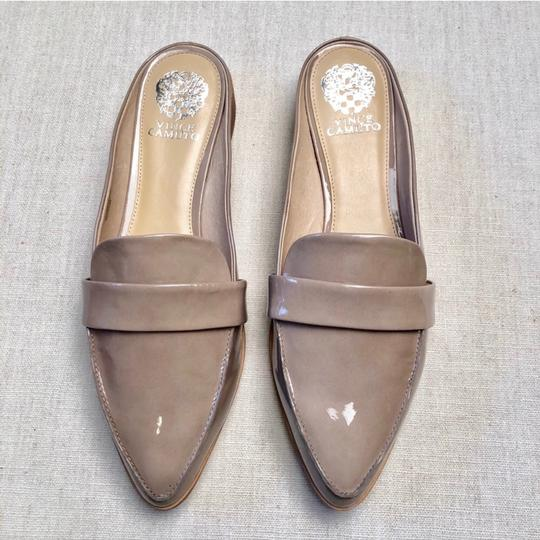 Vince Camuto Taupe Nude Mules Image 2