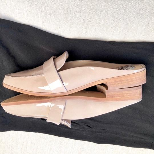 Vince Camuto Taupe Nude Mules Image 3