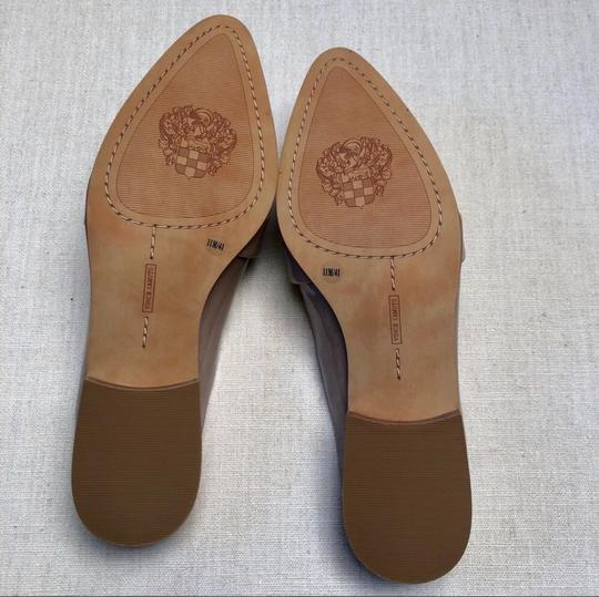 Vince Camuto Taupe Nude Mules Image 4