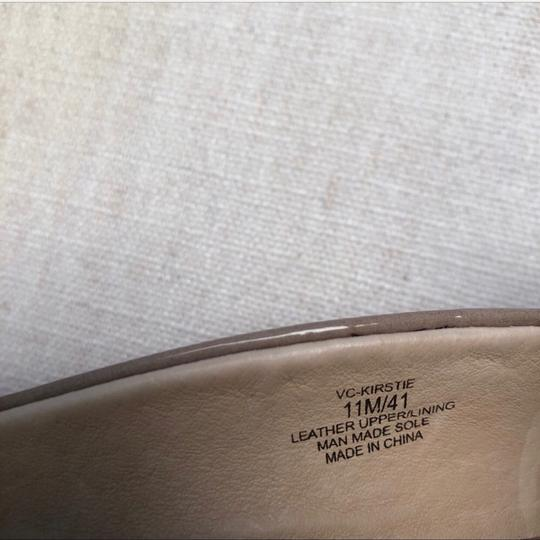 Vince Camuto Taupe Nude Mules Image 5