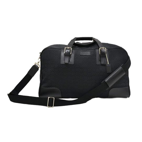 Preload https://img-static.tradesy.com/item/24579694/coach-signature-cabin-black-canvas-and-leather-weekendtravel-bag-0-0-540-540.jpg